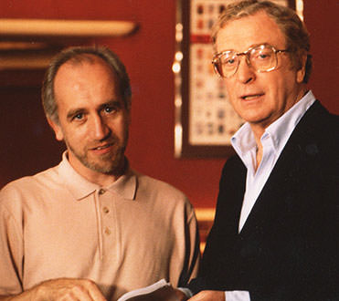 UK Director Brian Watson with Michael Caine