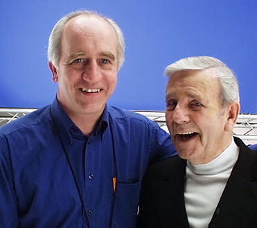 UK Director Brian Watson with Norman Wisdom